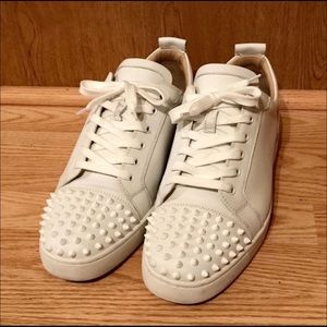 Christian Louboutin Louis Junior Leather Sneakers